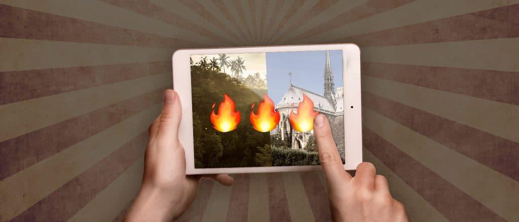 El incendio en el amazonas nos recuerda el poder de las redes