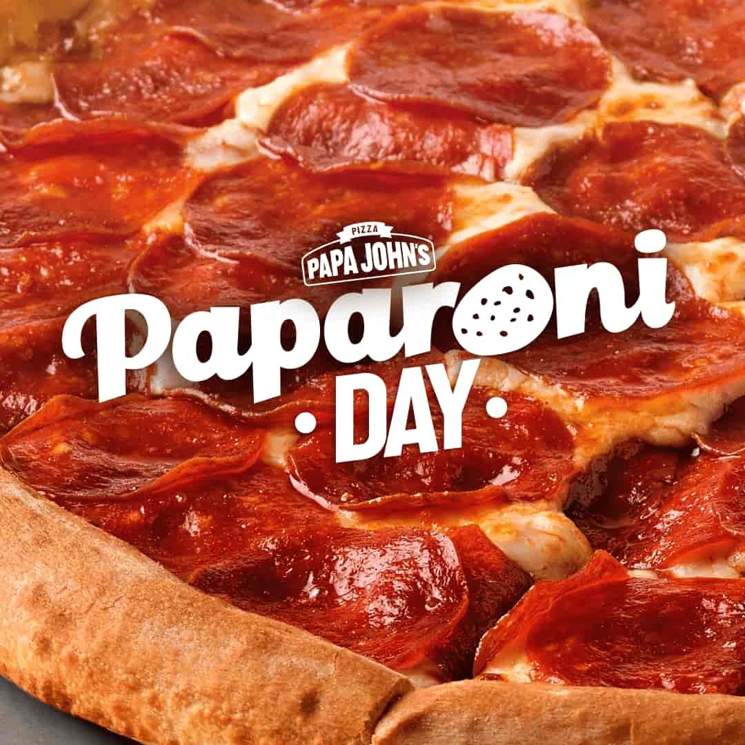 Papa John's día del pepperoni