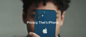 Comercial de apple sobre privacidad en ios 14.5