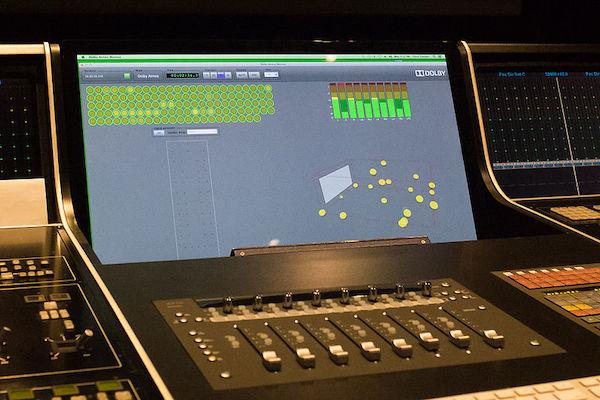 Audio Dolby Atmos para cine