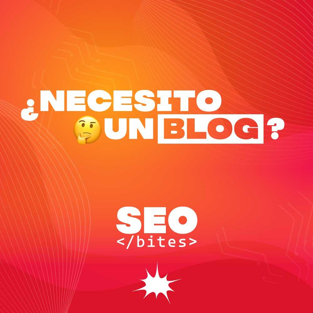 Necesito un blog