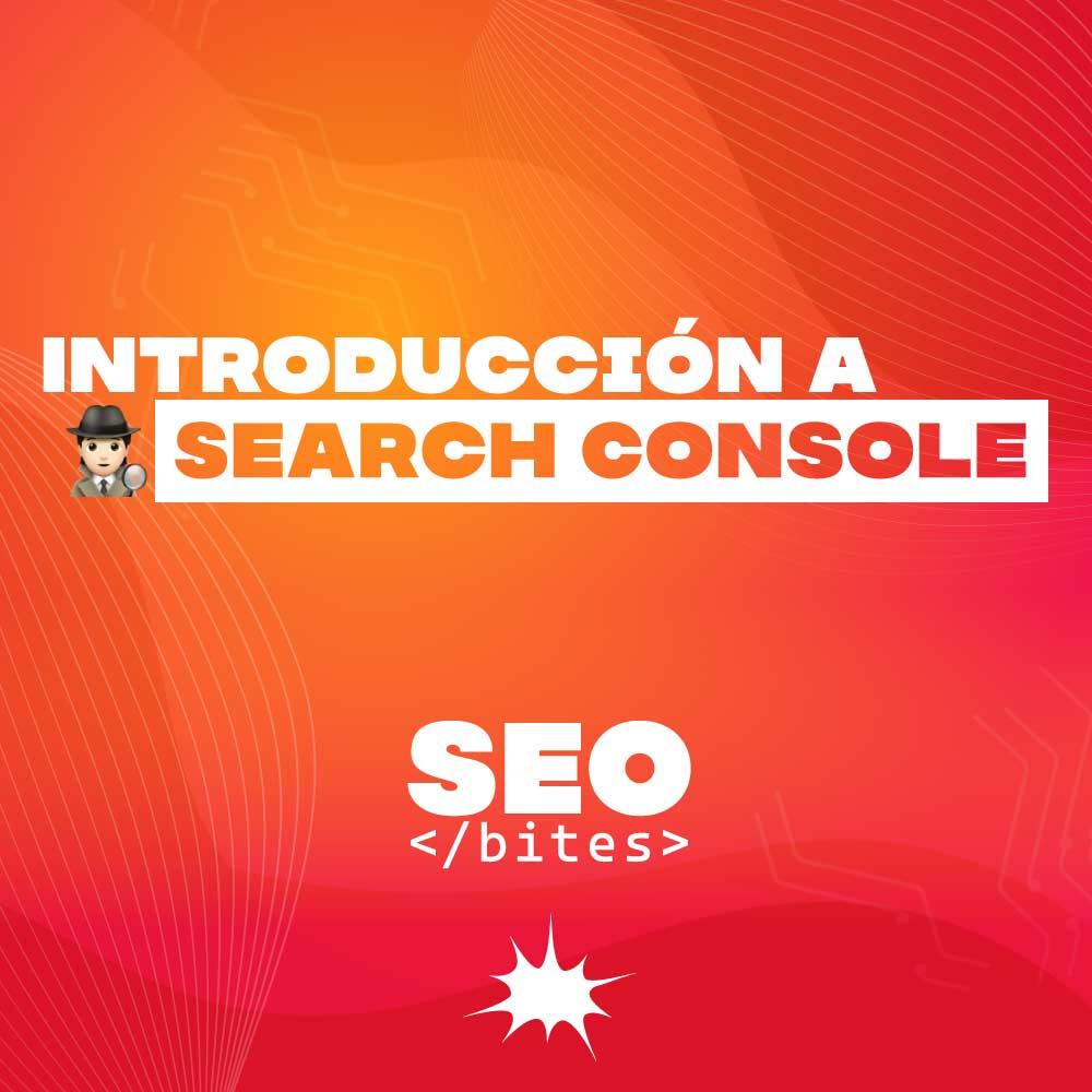 Introducción Google Search Console